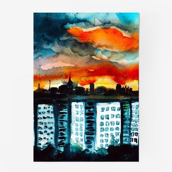 Постер «Городская романтика»