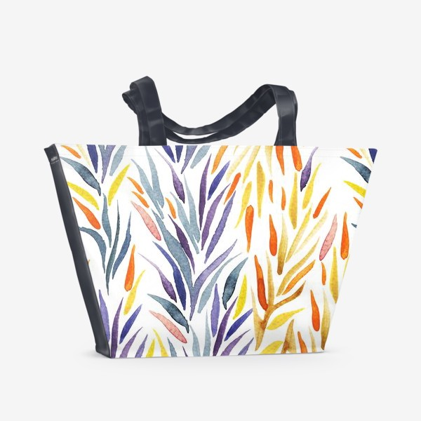 Пляжная сумка «Листики»