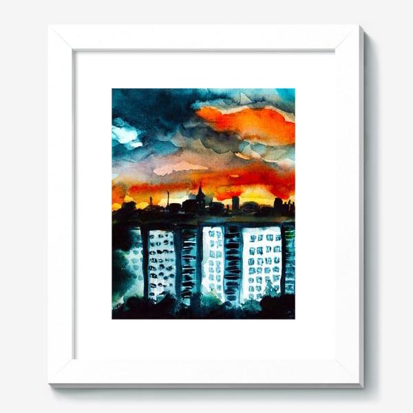 Картина «Городская романтика»