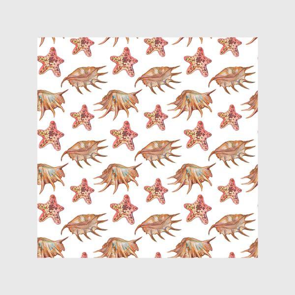 Скатерть «Ракушки и морская хвезда»