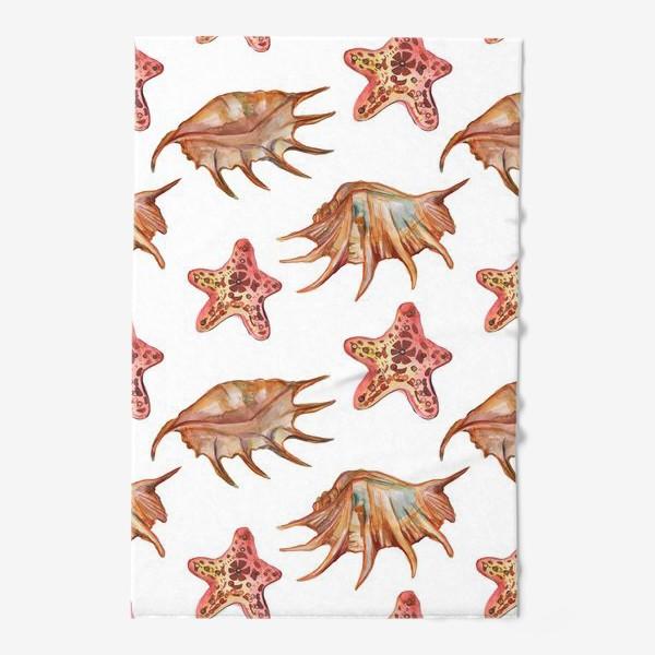 Полотенце «Ракушки и морская хвезда»
