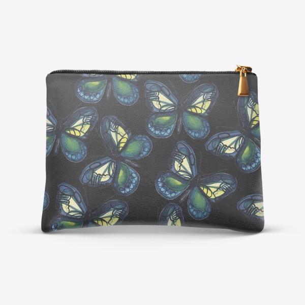 Косметичка «Бабочки летней ночью»