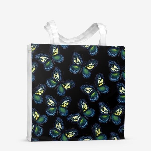 Сумка-шоппер «Бабочки летней ночью»