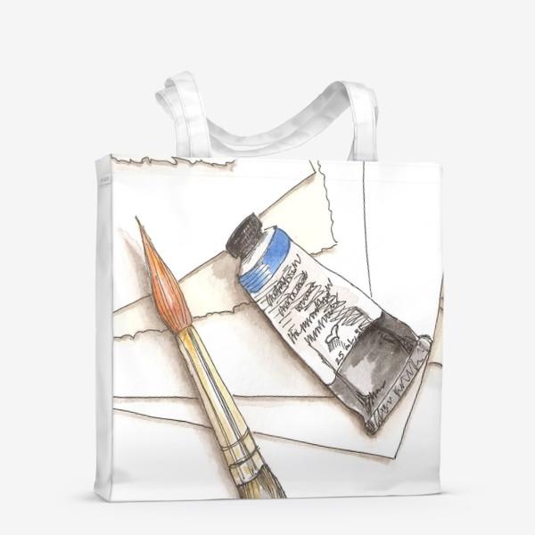 Сумка-шоппер «Кисти & краски»