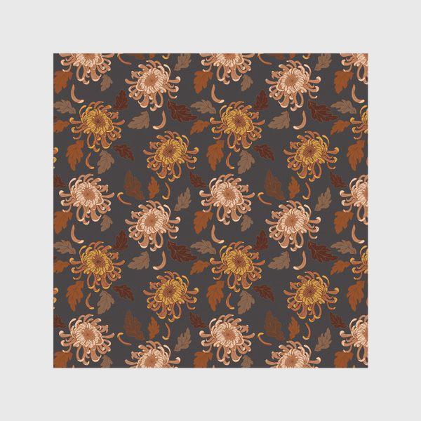 Скатерть «осенние хризантемы»