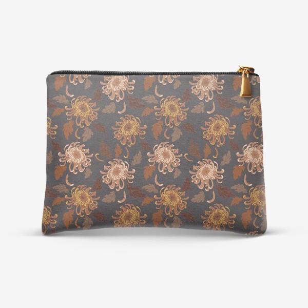 Косметичка «осенние хризантемы»