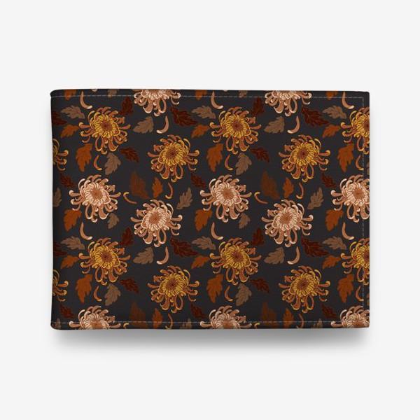 Кошелек «осенние хризантемы»