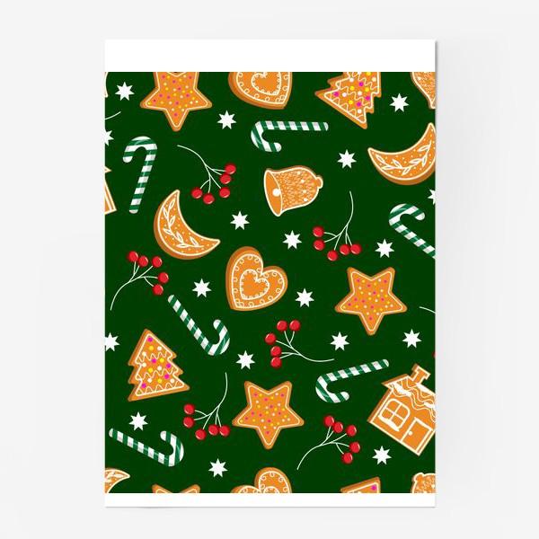 Постер «Паттерн с печеньем»