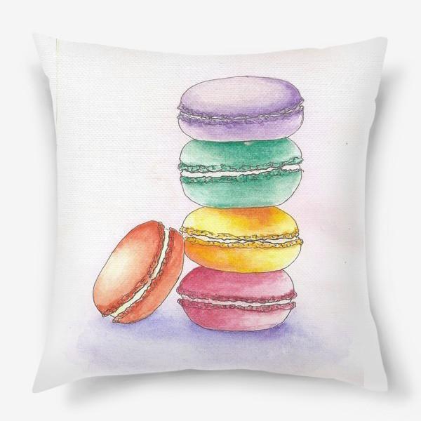 Подушка «Макаруны»