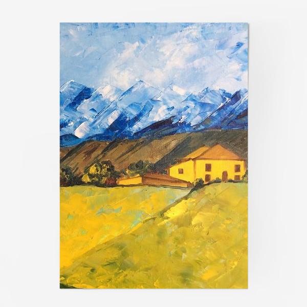 Постер «Горный пейзаж»