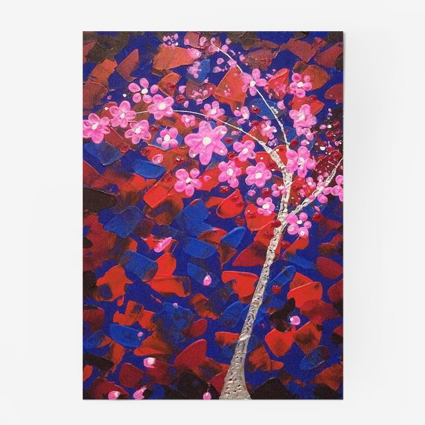 Постер «Цветущее Дерево»