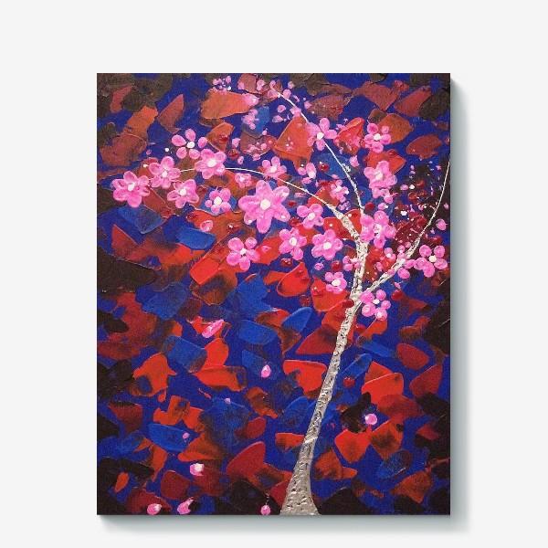 Холст «Цветущее Дерево»