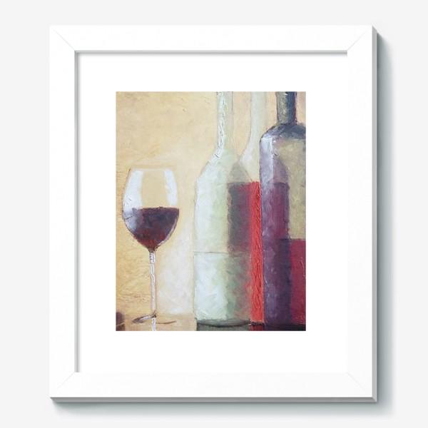 Картина «Натюрморт с бокалом»