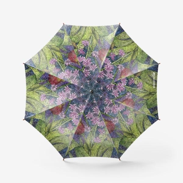 Зонт «Тюльпаны и гиацинт»