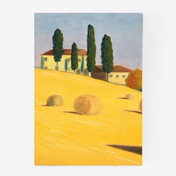 Постер «Тоскана»