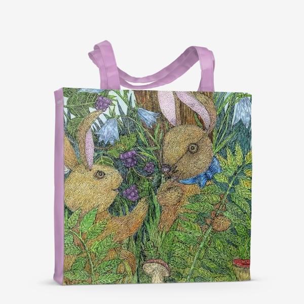 Сумка-шоппер «Кролики»
