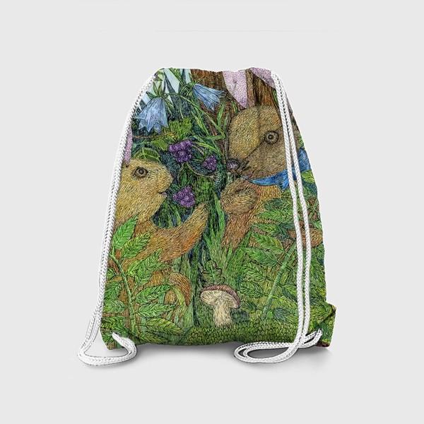 Рюкзак «Кролики»