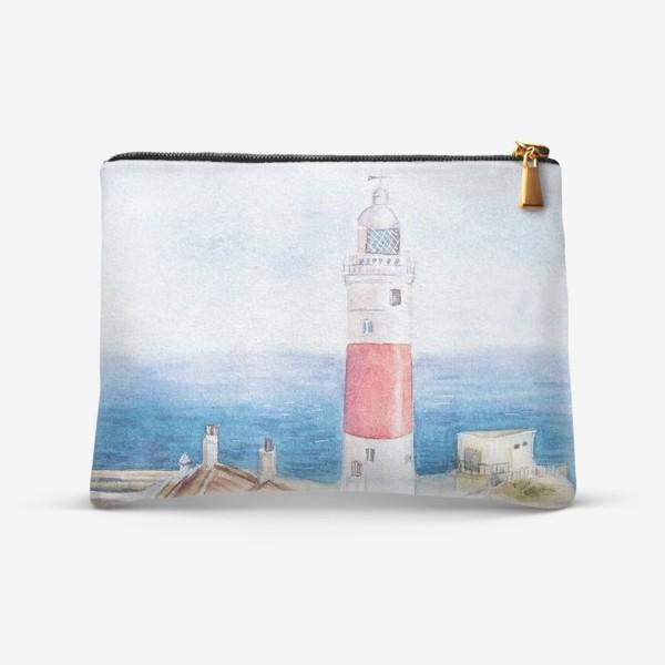 Косметичка «Маяк и море»