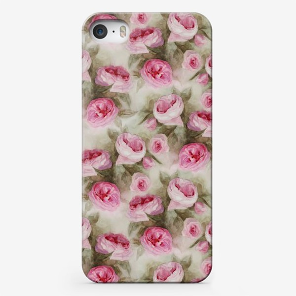 Чехол iPhone «Розы. Романтика.»