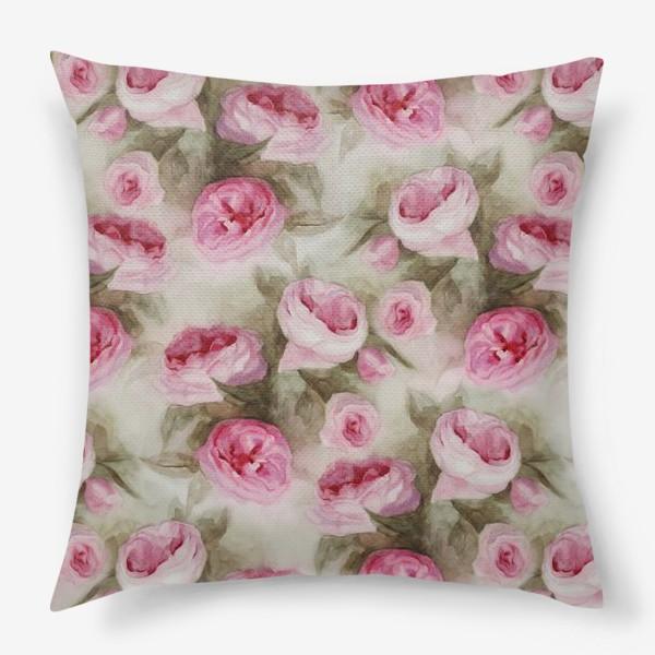 Подушка «Розы. Романтика.»
