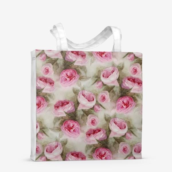 Сумка-шоппер «Розы. Романтика.»