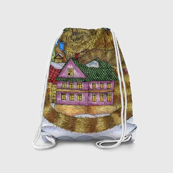 Рюкзак «Большая сказочная кошка»