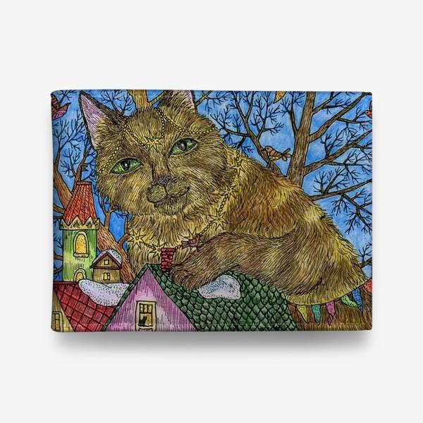 Кошелек «Большая сказочная кошка»