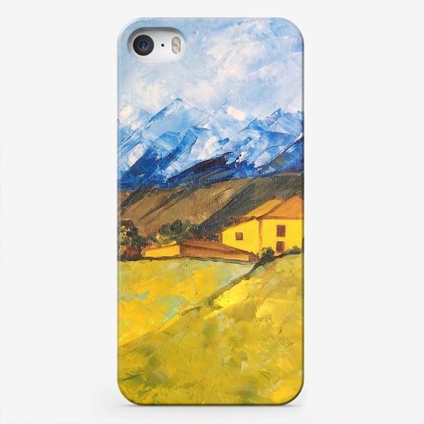 Чехол iPhone «Горный пейзаж»