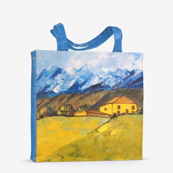 Сумка-шоппер «Горный пейзаж»