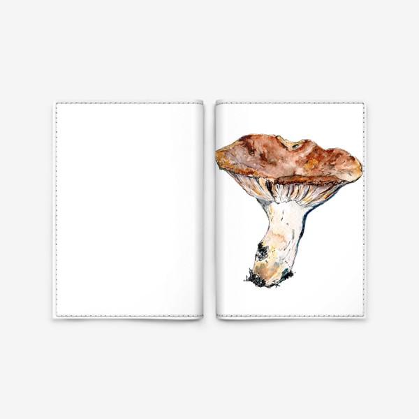 Обложка для паспорта «Гриб. Начинаем грибную охоту!»