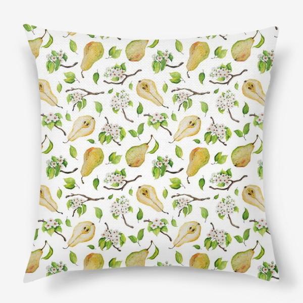 Подушка «Грушевый сад»