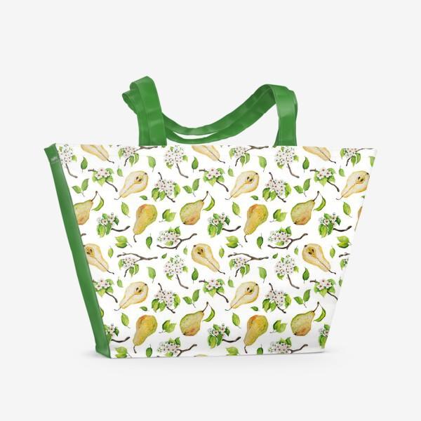 Пляжная сумка «Грушевый сад»