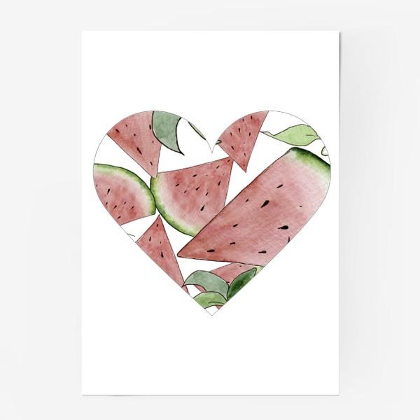 Постер «Арбузная любовь»