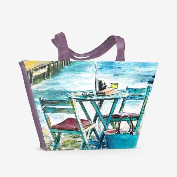 Пляжная сумка «У моря»