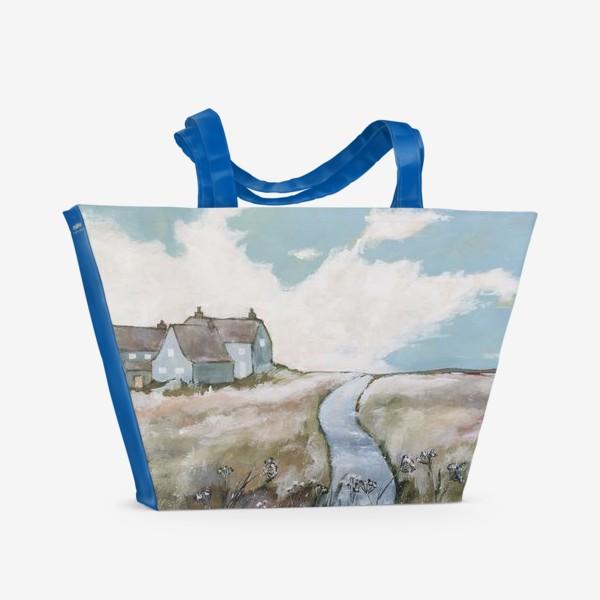 Пляжная сумка «Оглядываясь издали назад»
