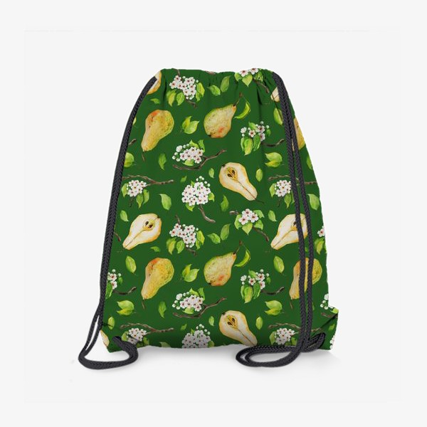 Рюкзак «Грушевый сад. На зеленом. »