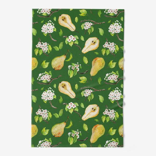 Полотенце «Грушевый сад. На зеленом. »