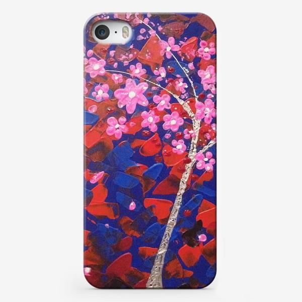 Чехол iPhone «Цветущее Дерево»