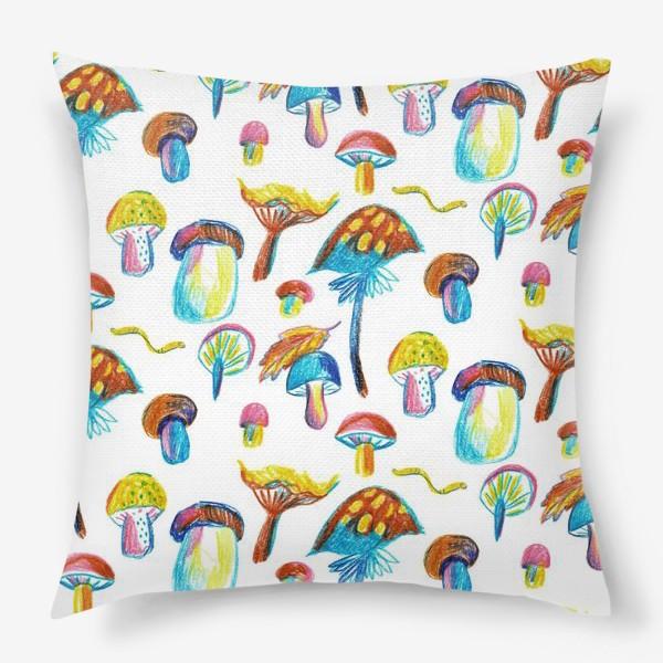 Подушка «Грибочки»