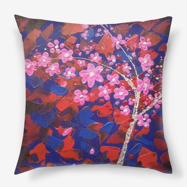 Подушка «Цветущее Дерево»