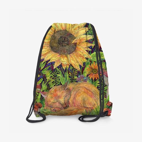Рюкзак «Сон маленького лисенка»