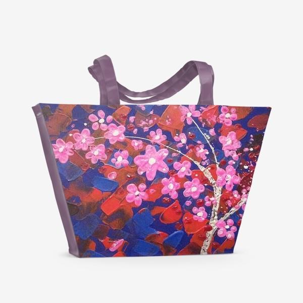 Пляжная сумка «Цветущее Дерево»