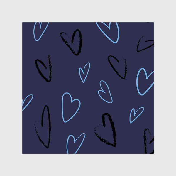 Шторы «Сердечки»