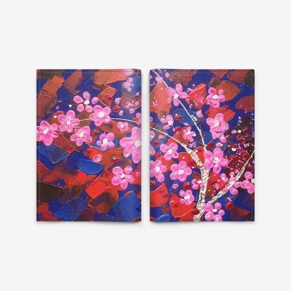 Обложка для паспорта «Цветущее Дерево»
