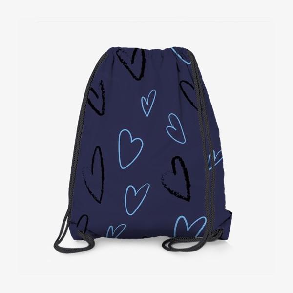 Рюкзак «Сердечки»