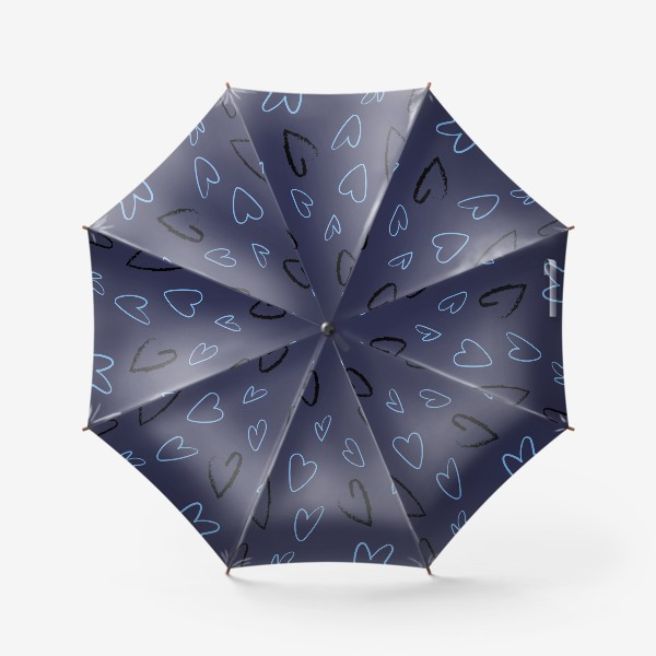 Зонт «Сердечки»