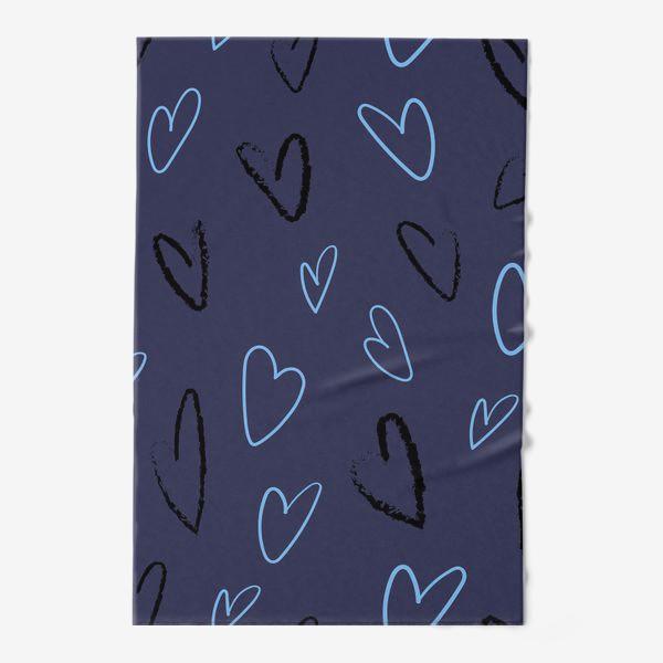 Полотенце «Сердечки»