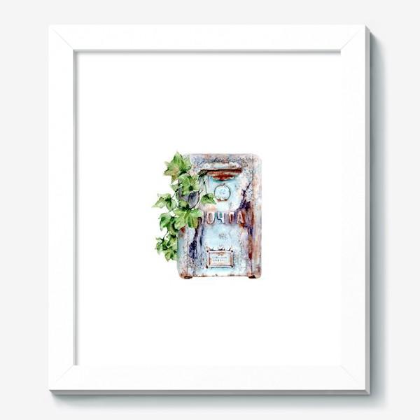 Картина «Старый почтовый ящик увитый плющем»