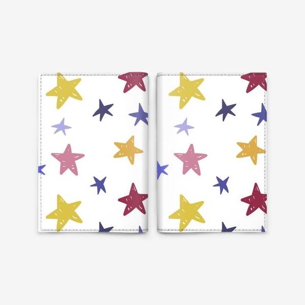 Обложка для паспорта «Звезды»