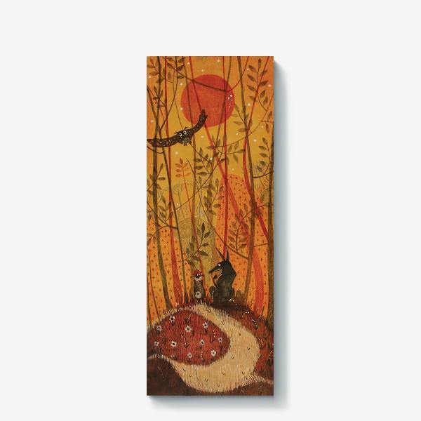 Холст «красная шапочка»